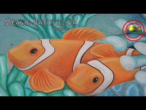 Art tips on How to Create Chalk Art with Mealie Batchelor on Colour In Your Life