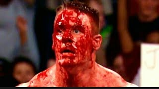 Bloody Match Brock lesnar vs john cena