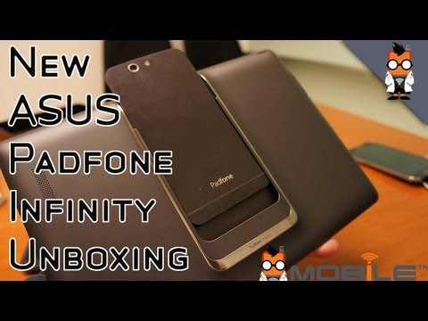 New ASUS PadFone Infinity Test - Unboxing, Hands On, Walkthrough