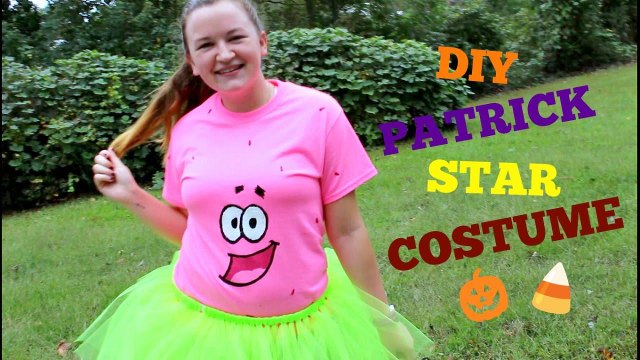 patrick and spongebob costumes & best friend halloween costume idea