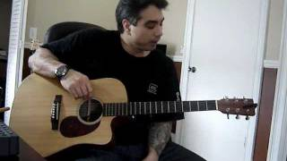 Acoustic Guitar Lesson #5 Knockin on Heaven