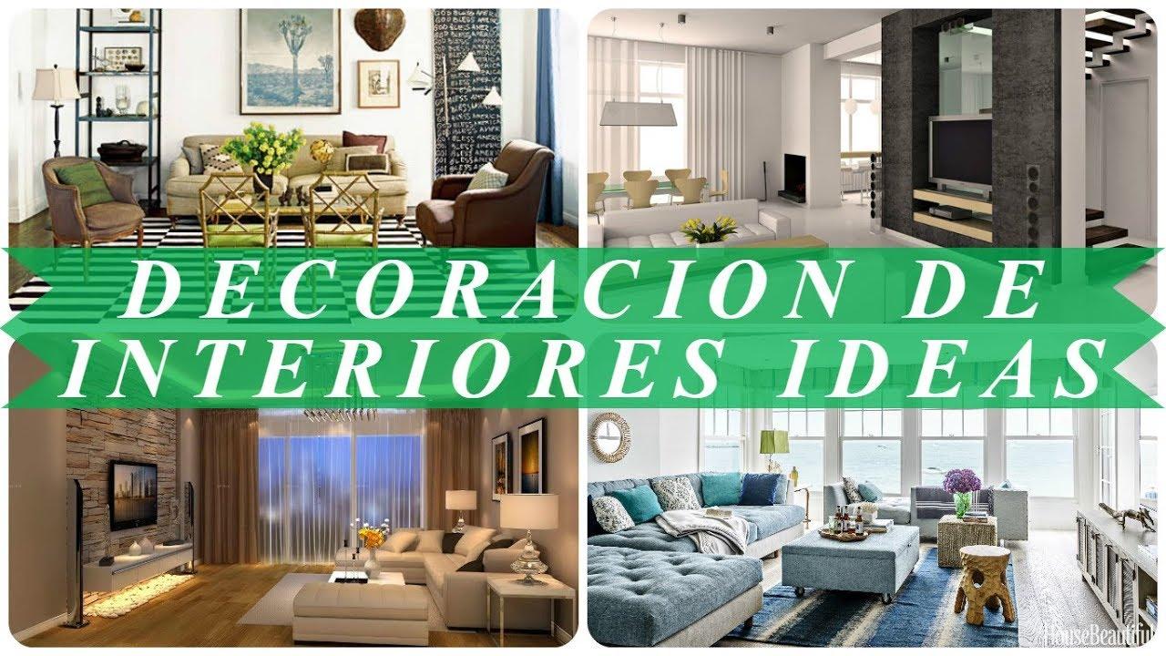 Ideas de decoracion de interiores salas youtube - Ideas de decoracion de interiores ...