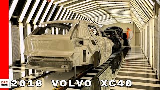 2018 Volvo XC40 Production Factory thumbnail