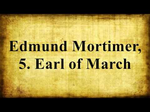 Edmund Mortimer, 5. Earl of March