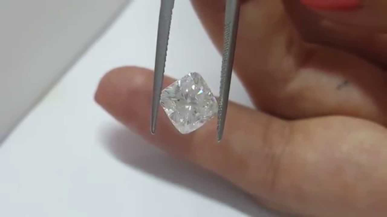 317 Carat Cushion Cut F Si1 Natural Loose Diamond For Engagement Ring 3 Ct  New