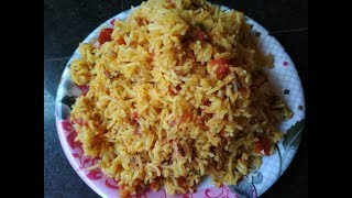 Tomato Rice Recipe - Make Tomato Rice Quick And Easy - Tamatar Rice