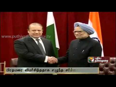 I Never Called Manmohan Singh As A Village Woman:Nawaz Sharif