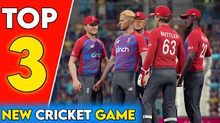 Top 3 Best Cricket Games For Android | 4K Graphics New Cricket Games screenshot 4