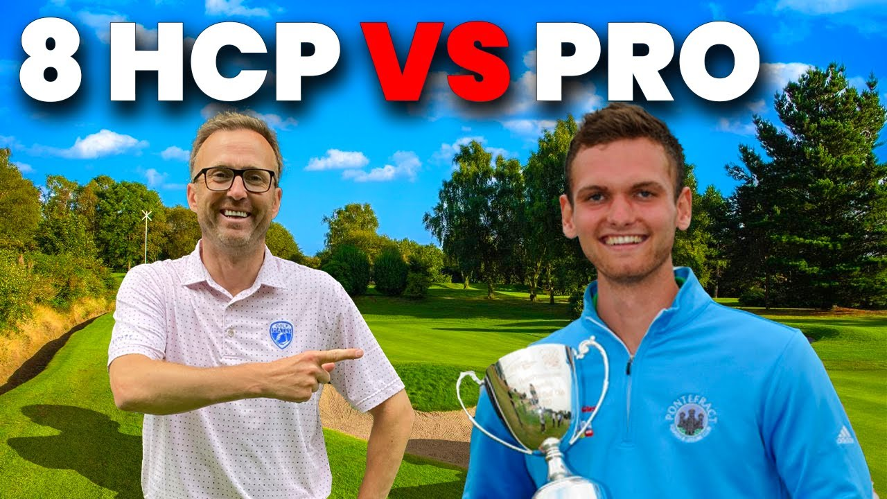 8 HANDICAP VS TOUR PRO IN GROSS SCORE MATCH!