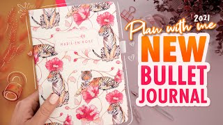 2021 Mid Year NEW Bullet Journal Setup | PLAN WITH ME