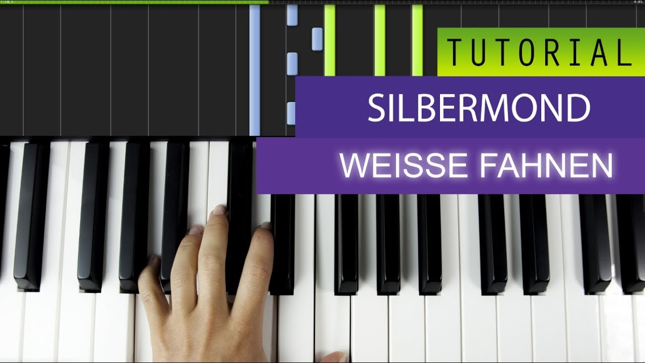 silbermond wei e fahnen piano tutorial youtube. Black Bedroom Furniture Sets. Home Design Ideas