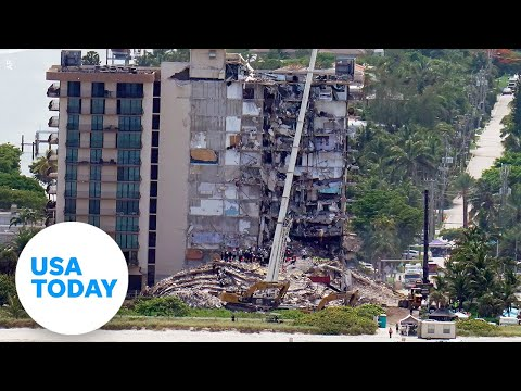 Miami-area officials give an update on rescue efforts at collapsed condo   USA TODAY