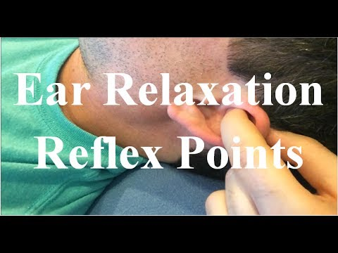Best Ear Reflex Points for Relaxation - Solar Plexus and Adrenal Reflexology Technique