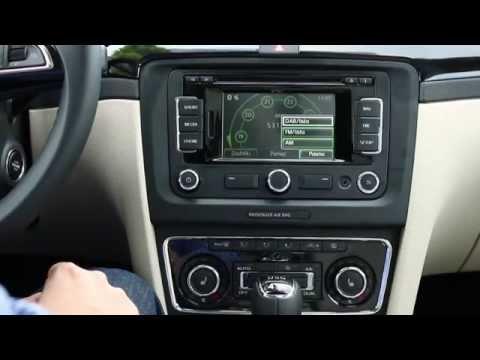 Skoda Superb II Combi Elegance - multimedia, radio, odtwarzacz, Maxi Dot