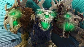NEW Druid Forms! 8.1.5 PTR Kul Tirans/Zandalari Druids - WoW: Battle For Azeroth 8.1
