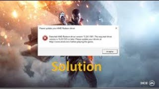 Battlefield 1 Has Stopped Working  [0xc0000005]
