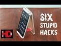 เคล็ดลับ - 6 โง่ Iphone Hacks ที่งานกรุนด์ฟอส แฮ็กโทรศัพท์
