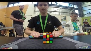 Feliks Zemdegs rompe Récord mundial 3x3 (4.73s) | Rubik´s Cube World Record