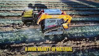 Video still for Mega Mixer: A Versatile Material Handling Bucket for Skid Steers and Tractors