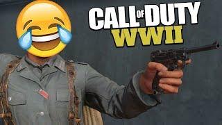 COD WW2 Funny Moments - Ninja Defuse, Killcam Fails, and Rage!