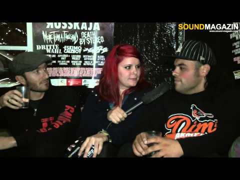 Death by Stereo Interview auf dem Pell Mell 2012