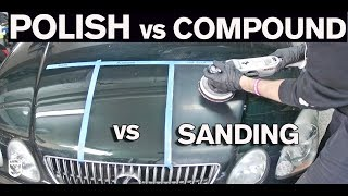 When to Polish vs Compound vs Wetsand