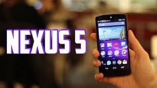Google Nexus 5, Review en Español