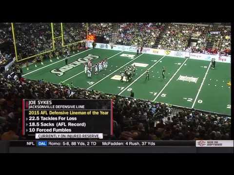 2015 Arena Bowl XXVIII Jacksonville Sharks at San Jose SaberCats