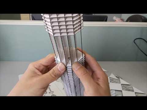 Shanghai Global financial center building model making process