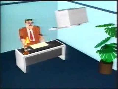 BBC Micro Live 1987 - CGI from the Imagina Conference