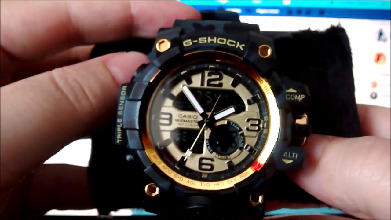 ec39d6c06b9 Como comprar Relógios G-shock Mudmaster Gg 1000 Digital - YouTube