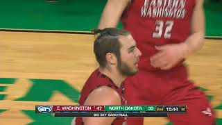 EWU Highlights vs. North Dakota (12-31-17)