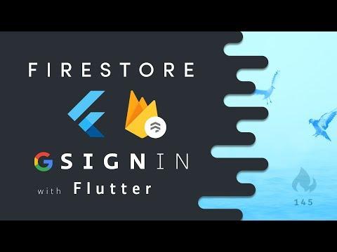 Flutter - Google SignIn from Scratch