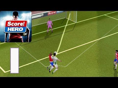 Score! Hero - Gameplay Walkthrough part 1 - Level 1-13 (iOS,Android)