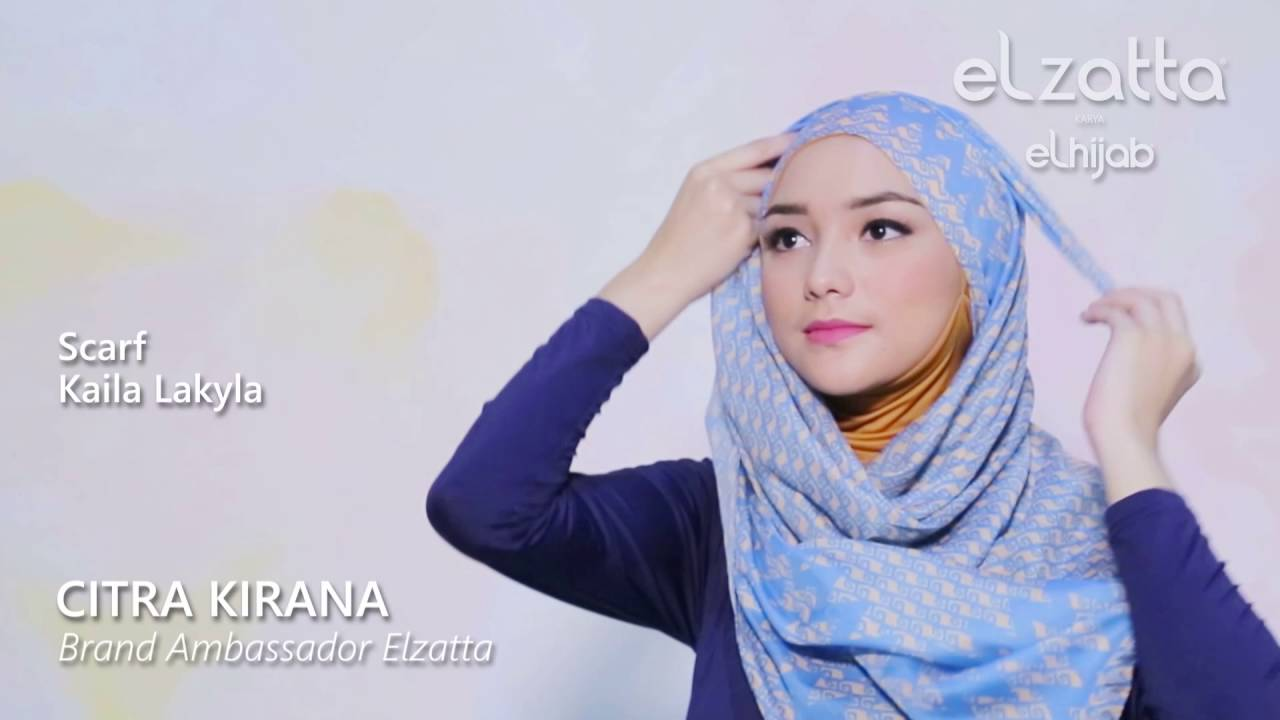 Citra Kirana: [Hijab Tutorial] Simple Scarf