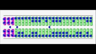 Airplane boarding simulation: Outside-In