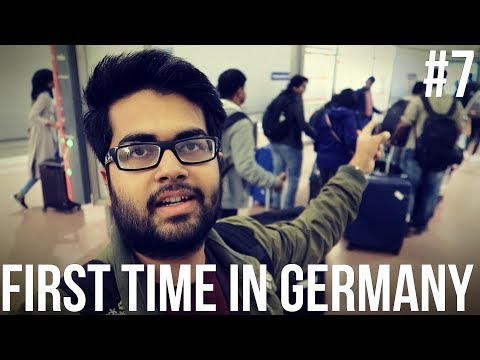 First Time in Germany: An Indian Student's Journey and First Impressions