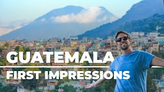 Antigua to Lake Atitlan (travel day) | GUATEMALA TRAVEL VLOG