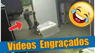 Vídeos Engraçados - Acidente de trabalho