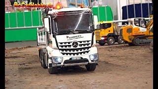 SUPER RC TRUCK MODELS, CONSTRUCTION MACHINES, AMAZING EVENT AT FAIR ERFURT 2019 p8