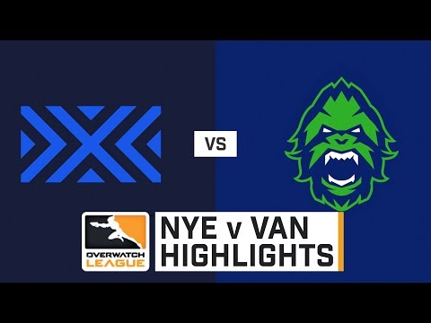 HIGHLIGHTS New York Excelsior vs. Vancouver Titans | Stage 2 Playoffs | Day 3 | Overwatch League