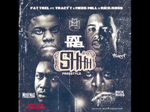 Fat Trel ft. Tracy T, Meek Mill & Rick Ross - Shhh (Freestyle) (New Music January 2014)