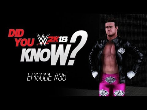 WWE 2K18 Did You Know?: New Dolph Ziggler Entrance, Jim Ross Easter Eggs & More (Episode 35)
