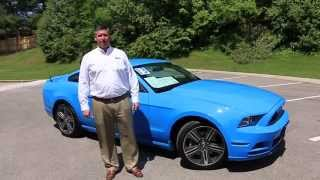 2013 Mustang v6 Grabber Blue Mint Condition