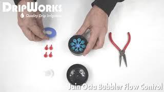 Jain Octa Bubbler Flow Control-Installation