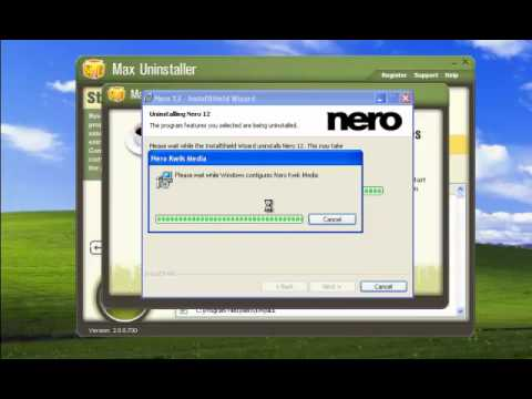 How to uninstall Nero12 completely