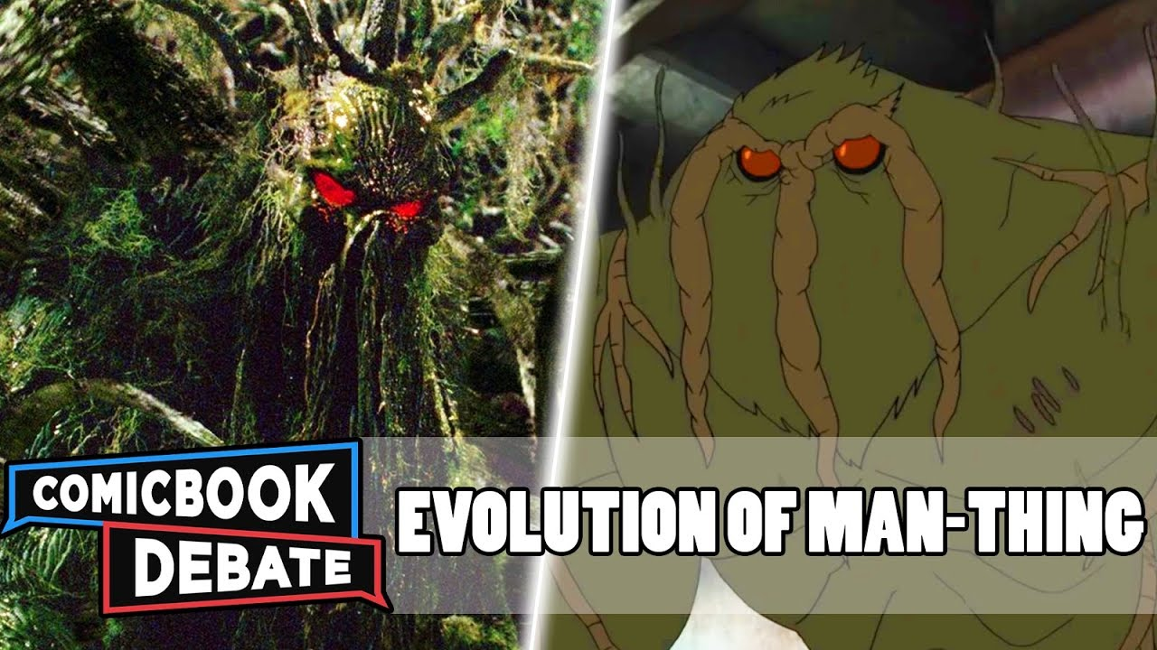 Evolution of Man-Thing in All Media in 5 Minutes (2018)
