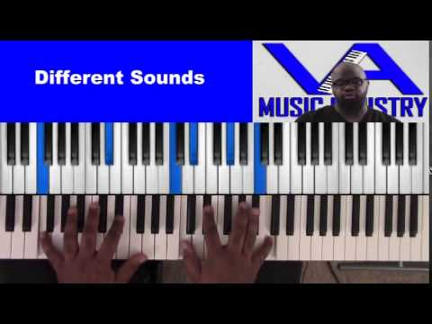 Different Sounds (David Cartwright on keys)