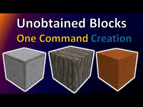 Unobtained Blocks | One Command Creation | TheBalliBoys