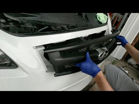 How to install a Grill on an Infiniti G37